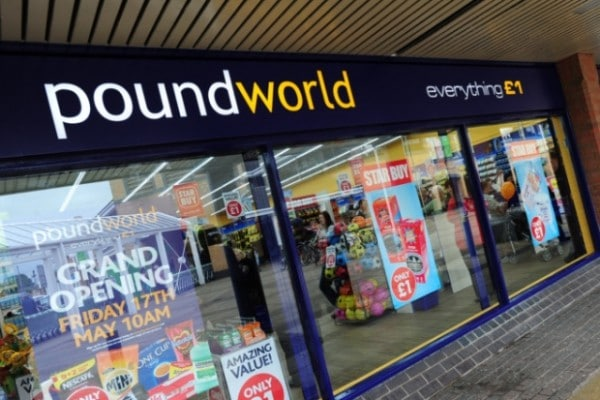 Poundworld Footfall Tracking