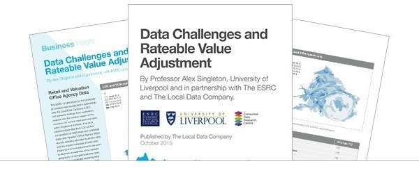 Data Challenges and Rateable Value Adjustment Report