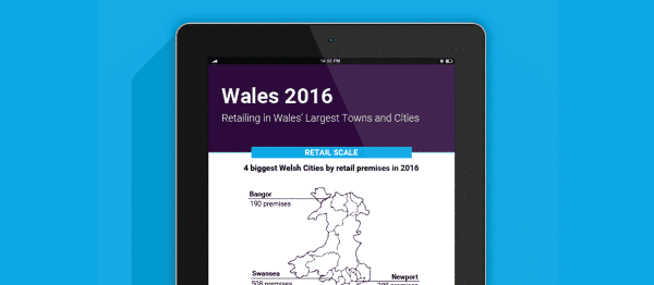 Retailing in Wales' largest towns and cities 2016