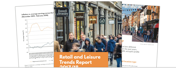 Retail and Leisure Report 2017/18 – The evolution of our retail landscape