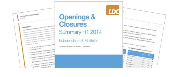 Openings and Closures Report Summary (H1 2014)