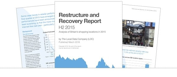 Restructure and Recovery Report (H2 2015)