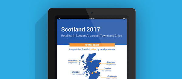 Retailing in Scotland's Largest Towns and Cities 2017