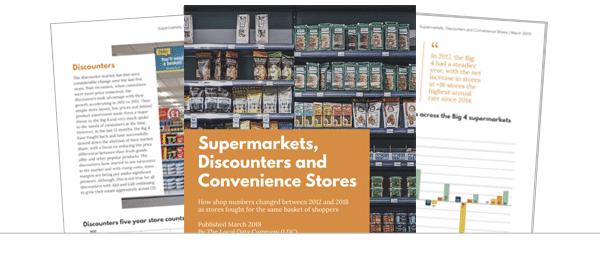 Supermarkets, Discounters and Convenience Stores Report (2012-2017)