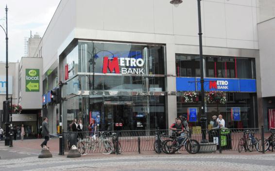 Metro Bank RG1 7QE