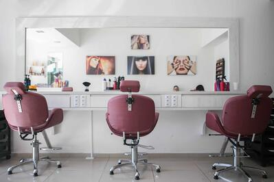 beauty salon compress