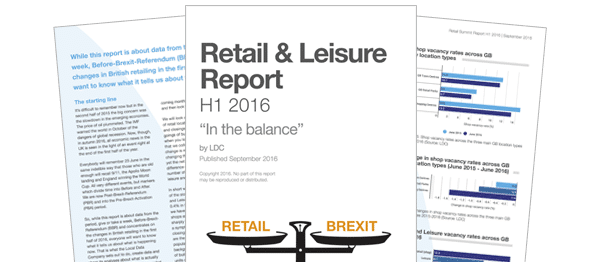 'In the balance' Retail & Leisure Report (H1 2016)