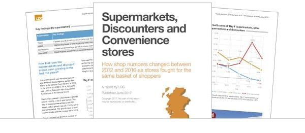 Supermarkets, Discounters and Convenience stores report June 2017